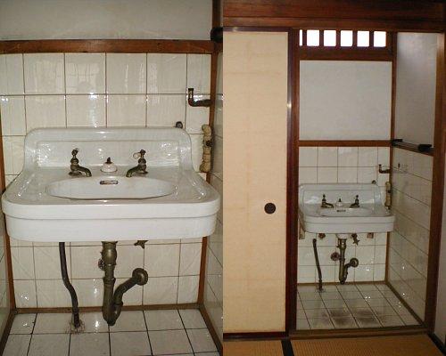 旧前田侯爵邸和館・2階洗面