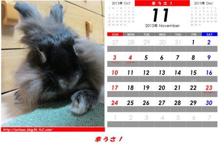 幸うさ2013-11 - コピー