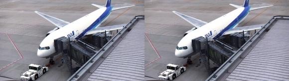 羽田空港①(交差法)
