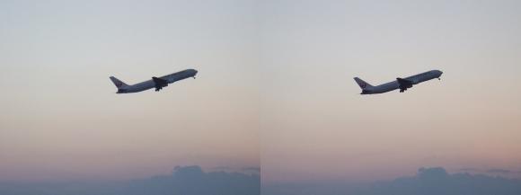 伊丹空港⑨(交差法)