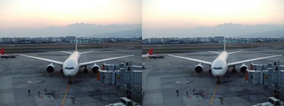 伊丹空港⑦(平行法)