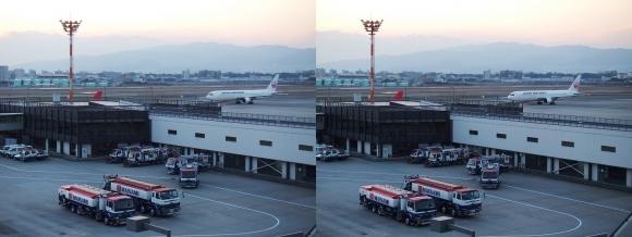 伊丹空港⑤(交差法)