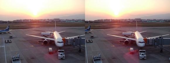 伊丹空港④(交差法)