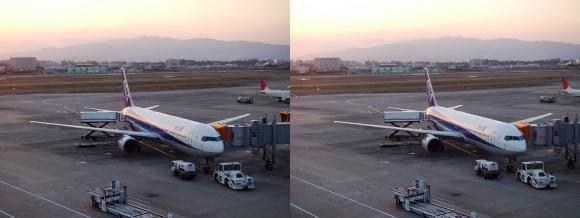 伊丹空港③(平行法)