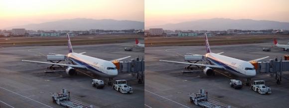 伊丹空港③(交差法)