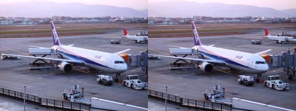 伊丹空港①(交差法)