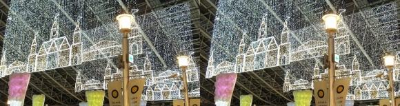 大阪ステーションシティ トワイライトファンタジー⑤(平行法)