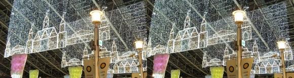 大阪ステーションシティ トワイライトファンタジー⑤(交差法)