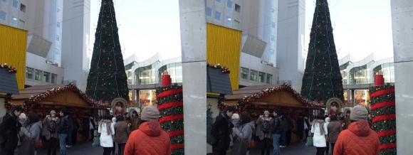新梅田シティ ドイツクリスマスマーケット大阪2013⑤(平行法)