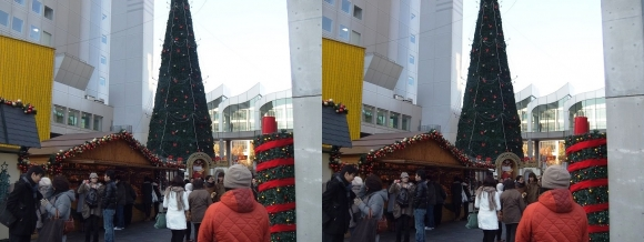 新梅田シティ ドイツクリスマスマーケット大阪2013⑤(交差法)