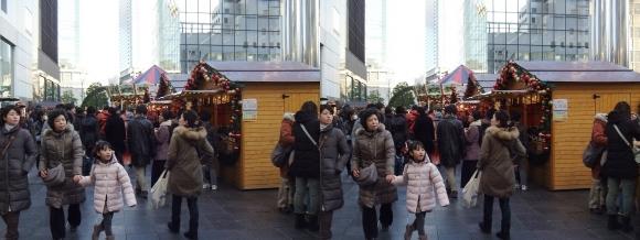 新梅田シティ ドイツクリスマスマーケット大阪2013③(交差法)