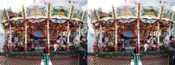 新梅田シティ ドイツクリスマスマーケット大阪2013②(平行法)