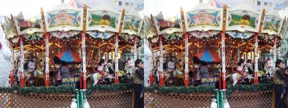 新梅田シティ ドイツクリスマスマーケット大阪2013②(交差法)