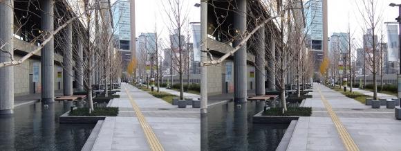 グランフロント大阪③(交差法)