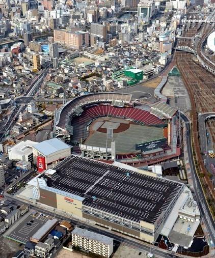 MAZDA ZOOM-ZOOM スタジアム 広島 空撮