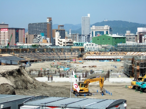 MAZDA ZOOM-ZOOM スタジアム 広島 8建設現場 200.5.03①