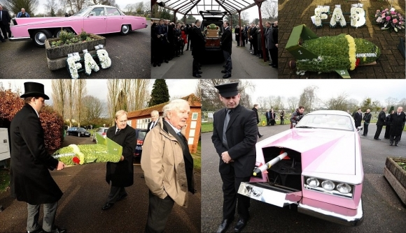 Gerry Anderson honoured at funeral