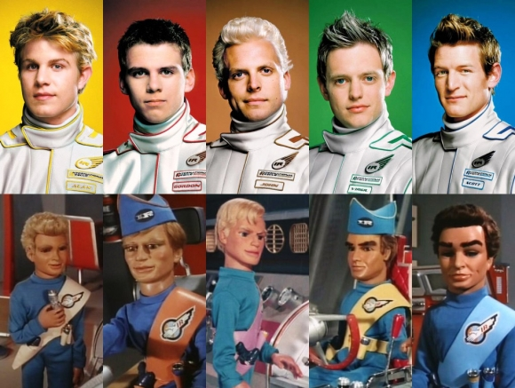 Thunderbirds old new