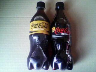 コカ・コーラゼロフリーとコカ・コーラ ゼロ