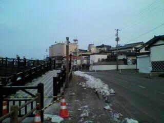 「恋ではなく」舞台訪問-山居橋-