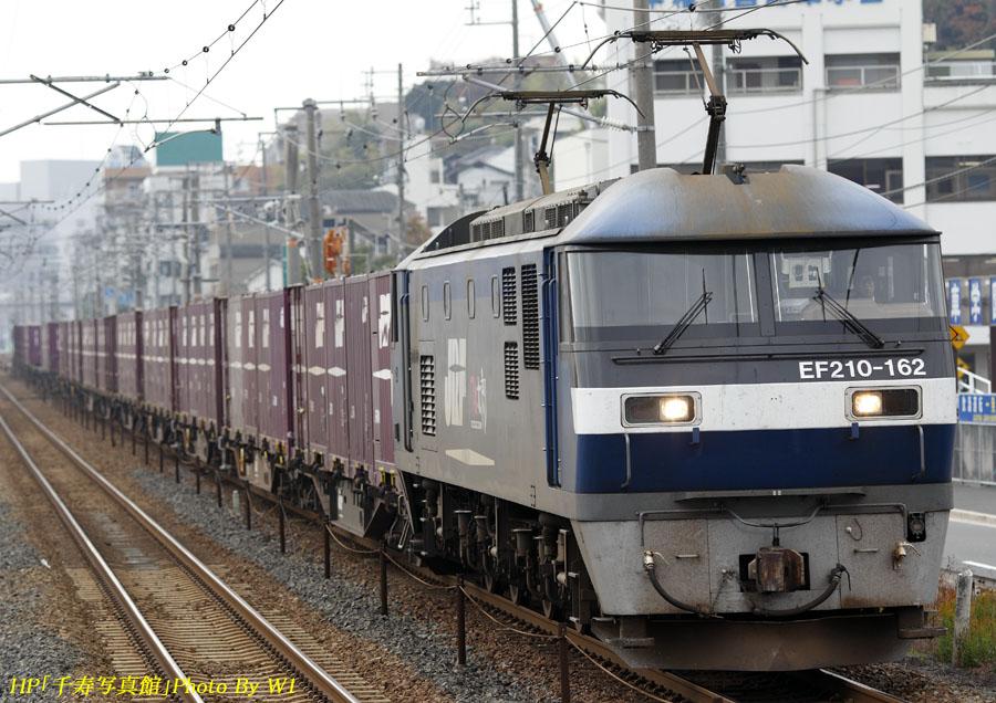 EF210上り貨物列車(1)