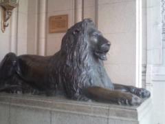日本橋三越 ライオン