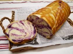 紫いもラウンドパン1
