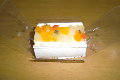 ケーキで1