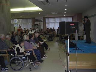 12月23日櫛引リハビリテーション病院クリスマス会