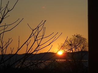日の出風景 004