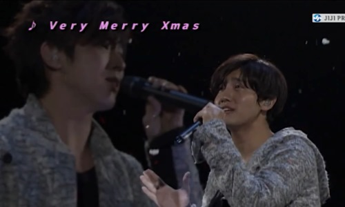 東方神起 ファンミ very merry Xmas