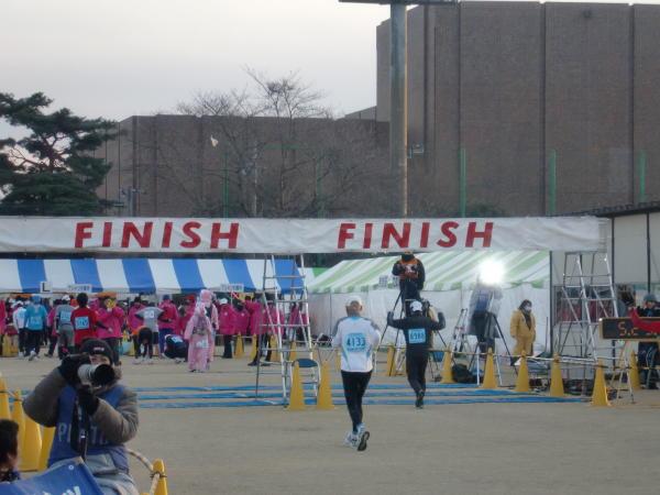 勝田マラソンゴーーール