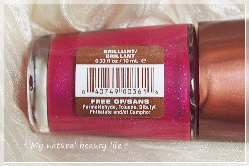Mineral Fusion, Minerals on a Mission, Nail Lacquer, Brilliant