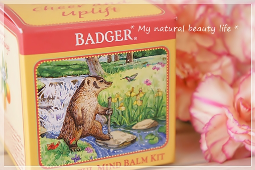 Badger Company, Cheerful Mind Balm Kit, Aromatherapy Kit to Cheer & Uplift