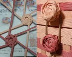 花編みボタン