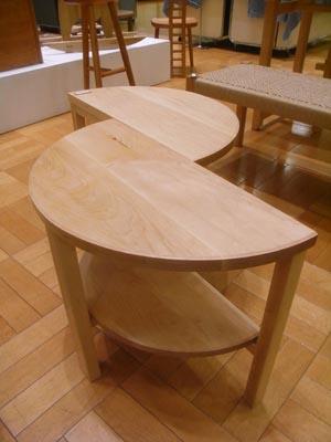 半円テーブル01