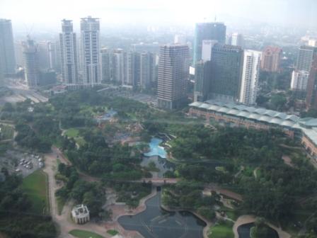 上からの風景