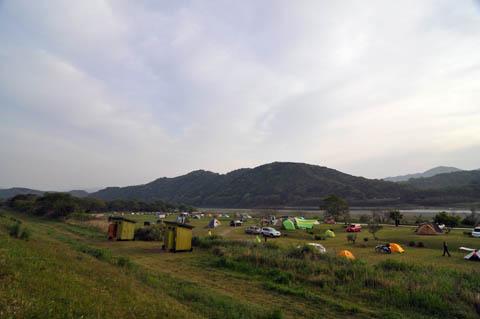 四万十キャンプ場朝2