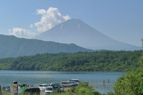 西湖富士山