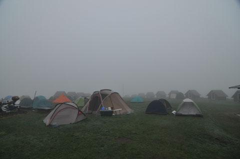 霧多布キャンプ場