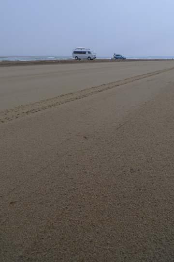 12千里浜砂