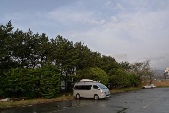 37輪島P雨上がり