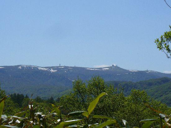 横津岳の山並み