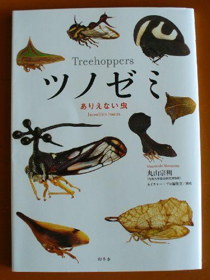 『ツノゼミ』ありえない虫 表紙