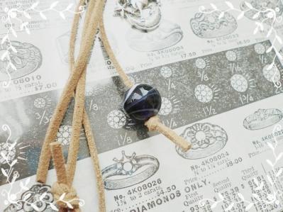 【オーダー】トンボ玉ネックレス&ストラップ120118 (5)