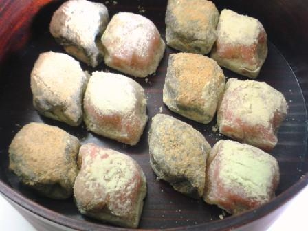 亀屋吉長 うぐいす餅