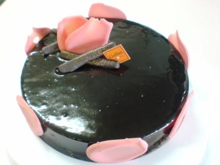 ガレーチョコケーキ