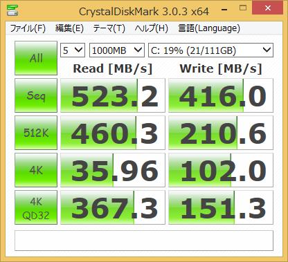 SnapCrab_CrystalDiskMark 303 x64_2013-12-8_12-18-17_No-00