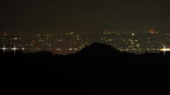 高峰パーキング 夜景