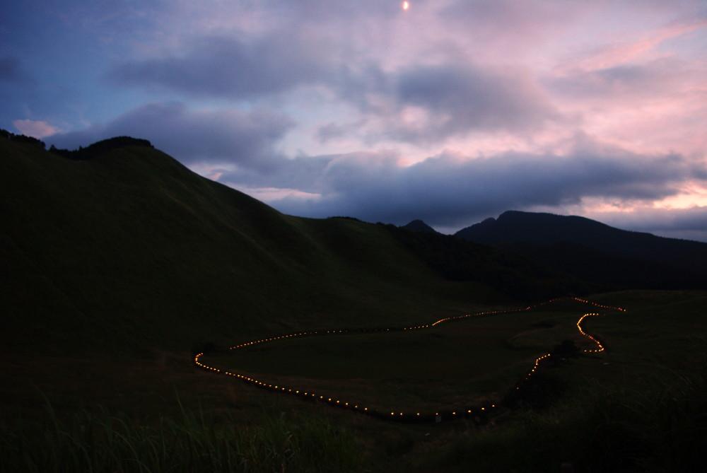 山灯り2011.08